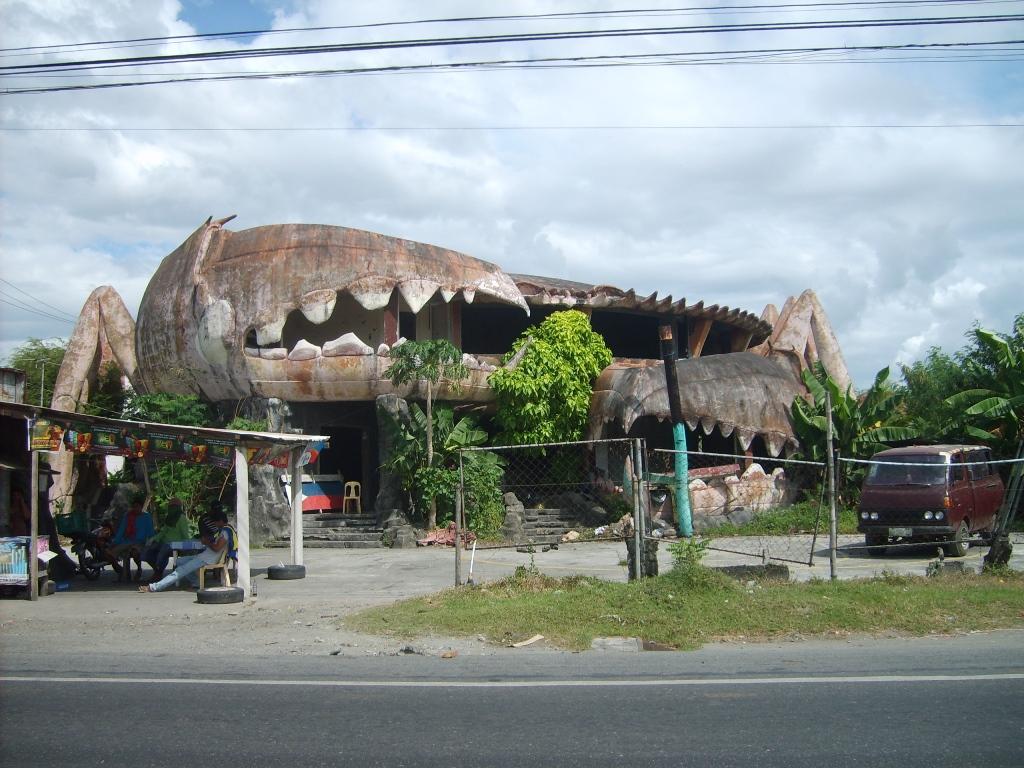 Crab building, Philipines