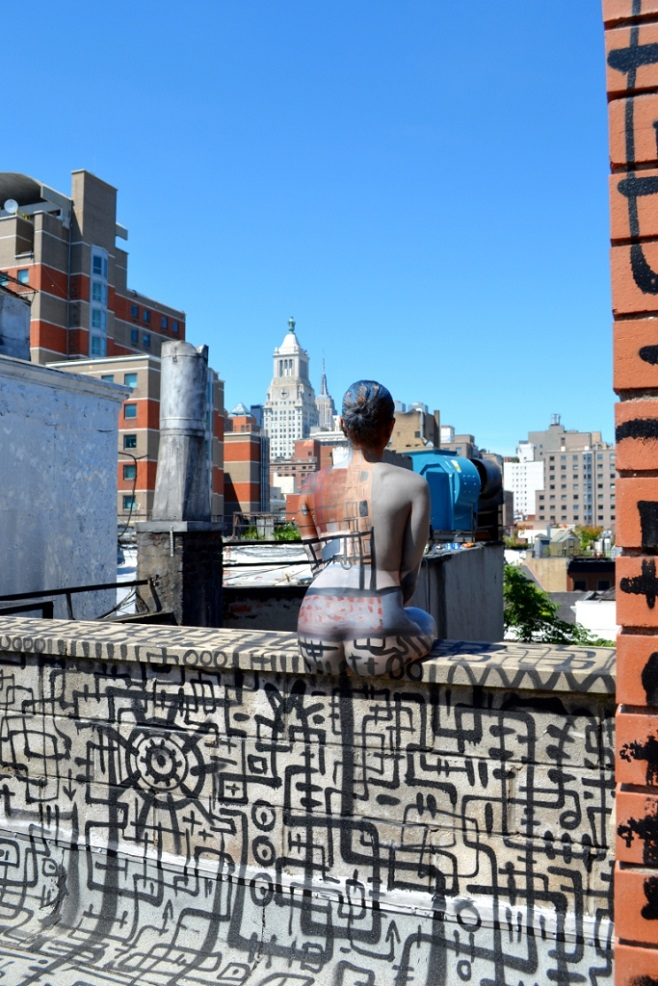 St. Mark's Rooftop bodypaint