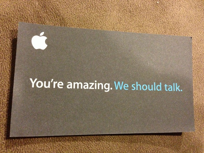 Encouraging Business card