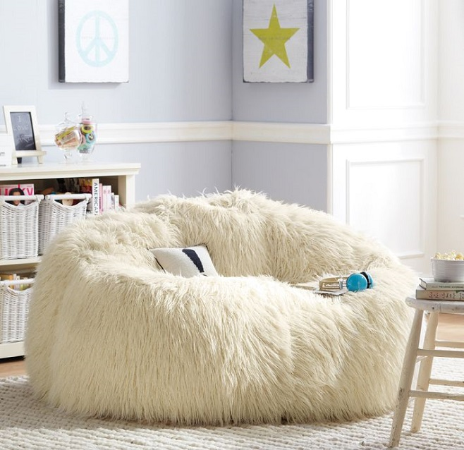 Ivory Furlicious Cloud Couch