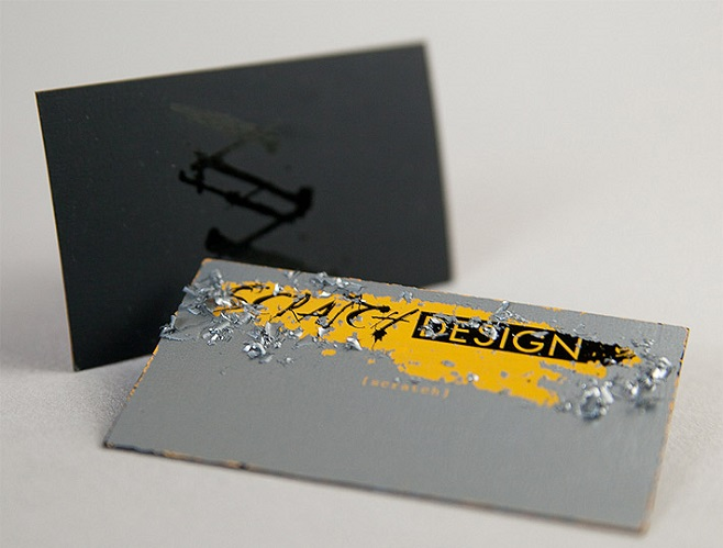 Scratch Design Business card