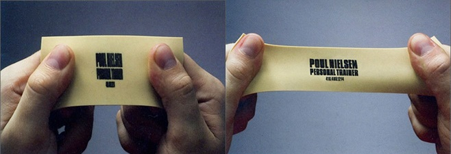 Stretched Business card
