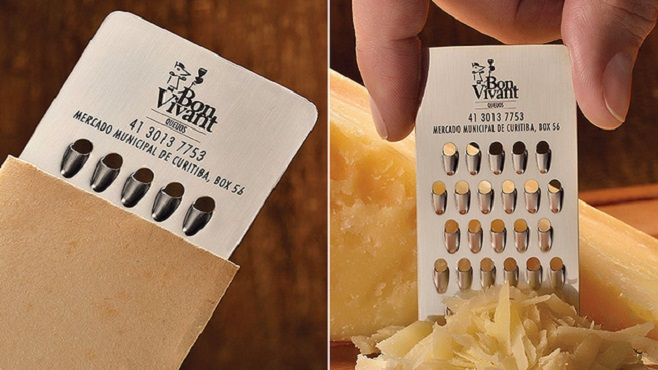 Cheese grate | For a grate business card