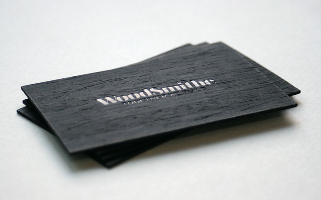 Woodsmithe Business card