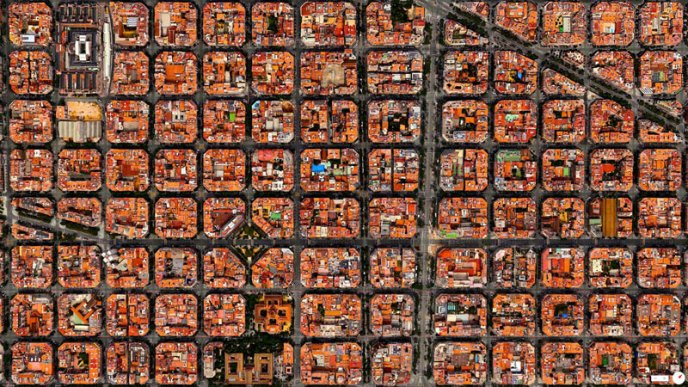 Eixample District – Barcelona, Spain