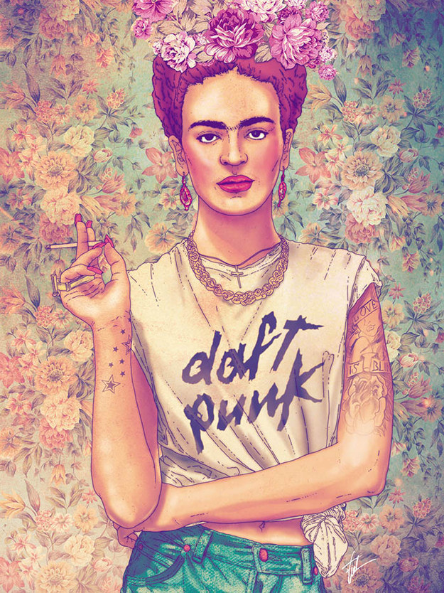 Frida Kahlo as a hipster