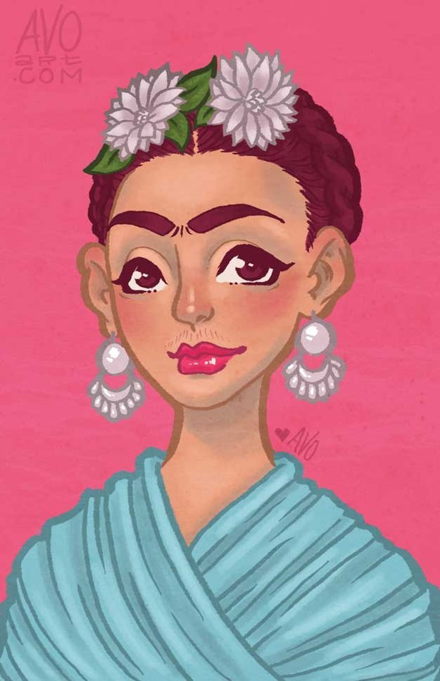Frida Kahlo by Tatyana Vogt
