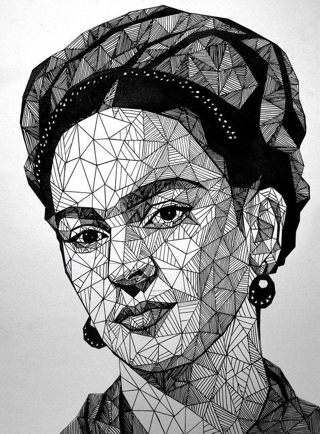 Frida Kahlo by Victoria
