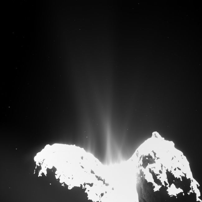 67P from 10 KM
