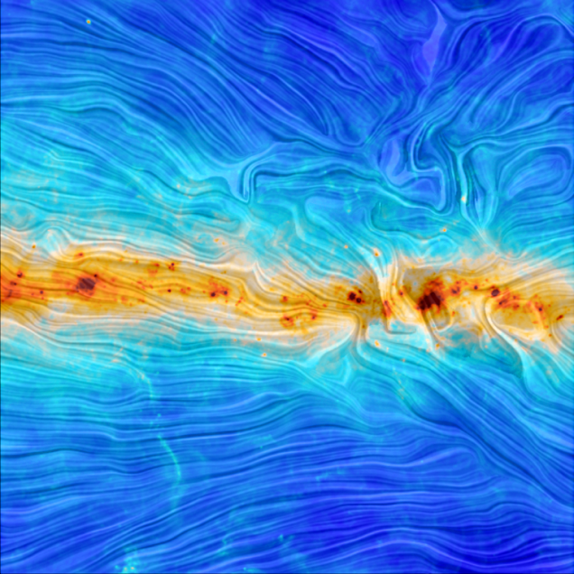 New look at Milky Way's magnetic field