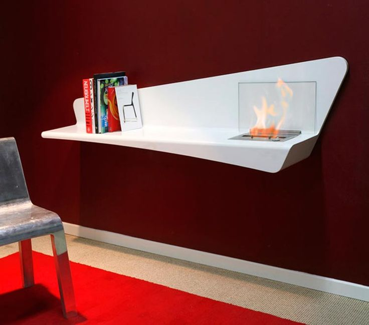 Bio Fireplace Wall