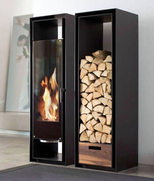 Conmoto Gate Wood Burning Fireplace