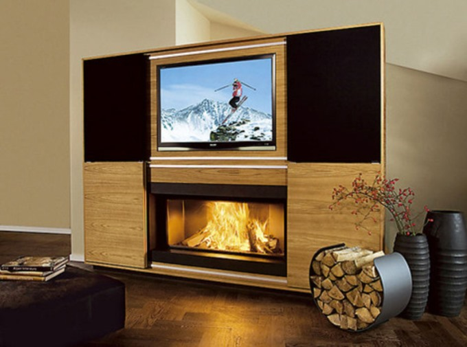 Multimedia Fireplace