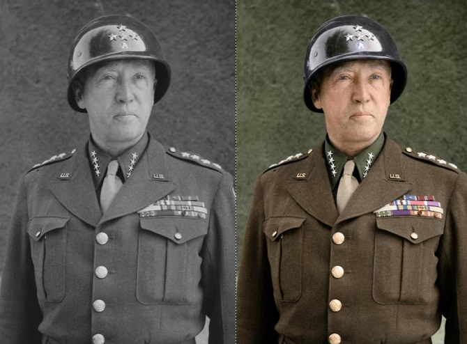 General George S. Patton, 1945