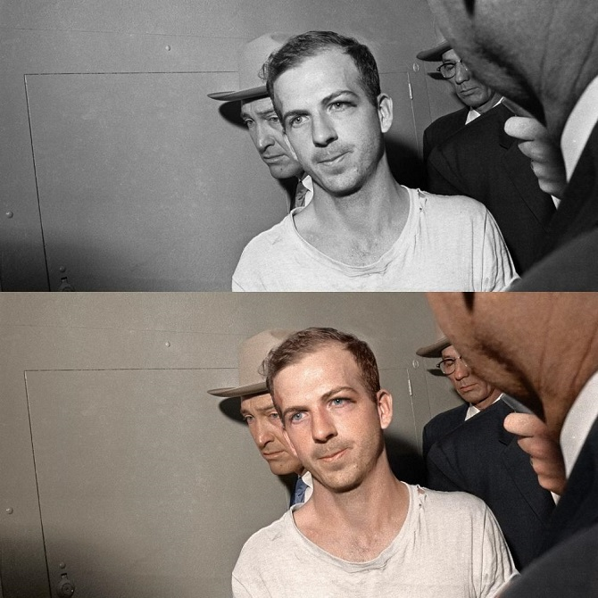 Lee Harvey Oswald, Kennedy's assasin, 1963