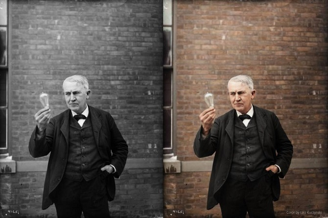 Thomas Alva Edison. New Jersey, 1911