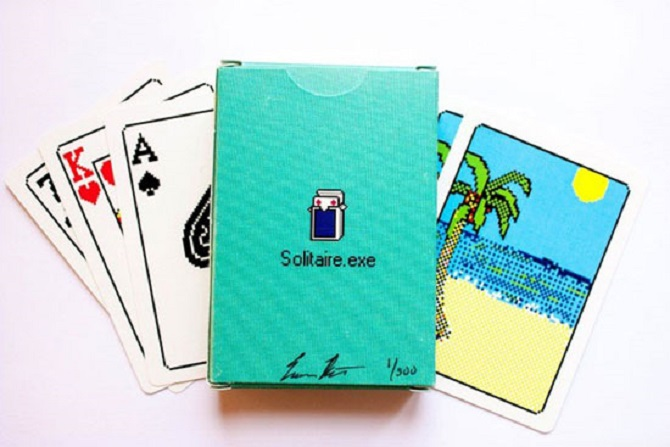 Windows Solitaire Cards