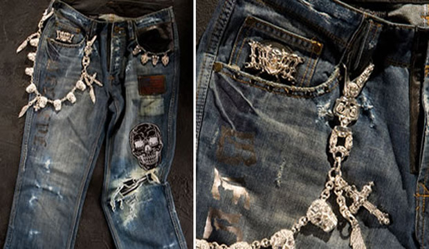 Dussault Apparel Thrashed Denim
