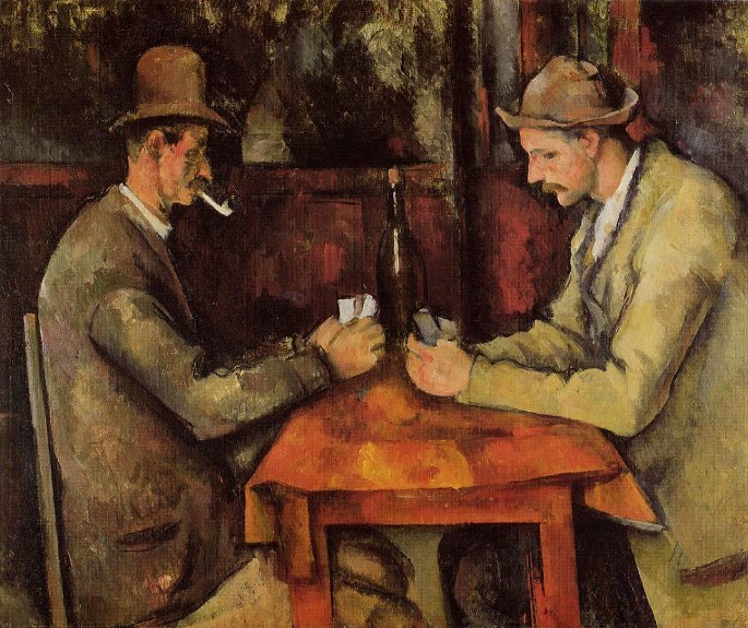 The Card Players - Paul Cézanne