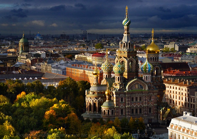 Church on Spilled blood, St. Petersburg