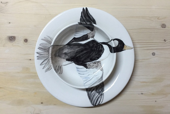 Flying Duck Double Plate