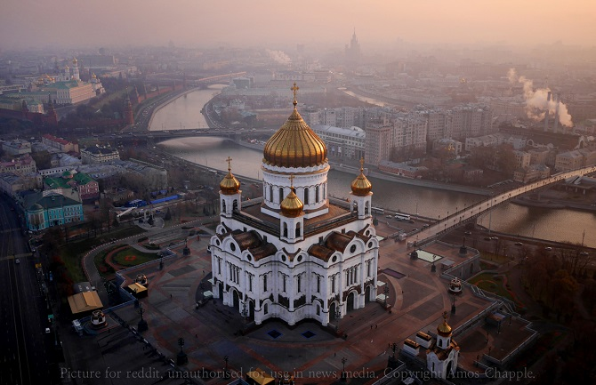 Moscow's Cathedral of Christ the Saviour