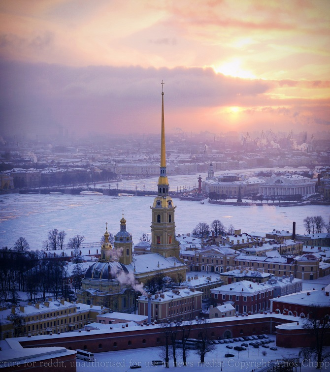 Peter & Paul Cathedral, St. Petersburg