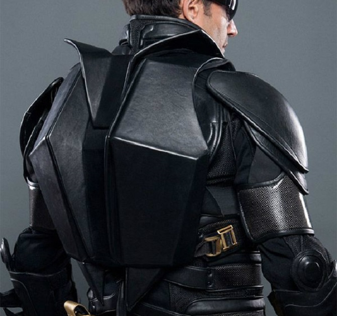 Dark Knight Suit Backpack Replica