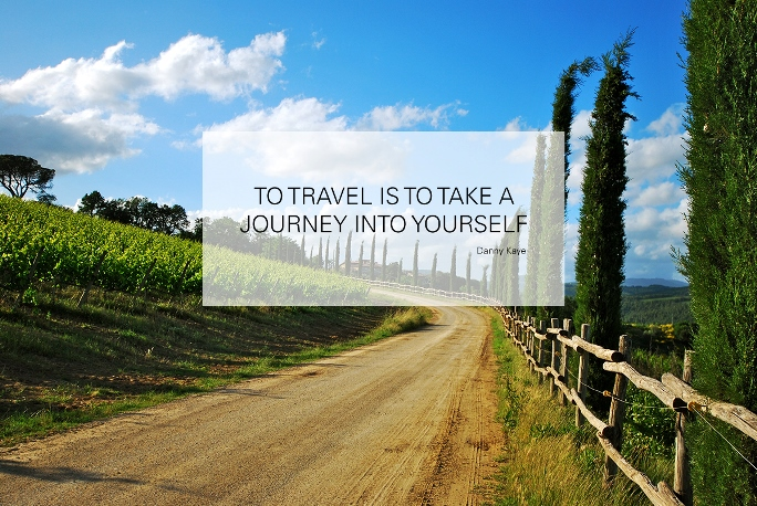 Self-discovery by traveling