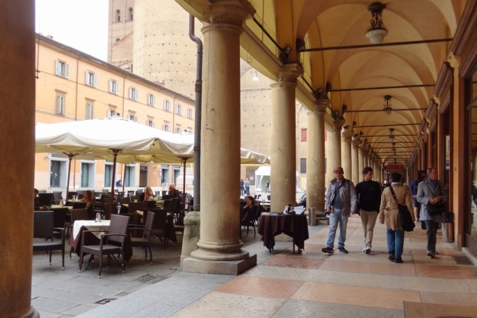 Cafe in Bologna