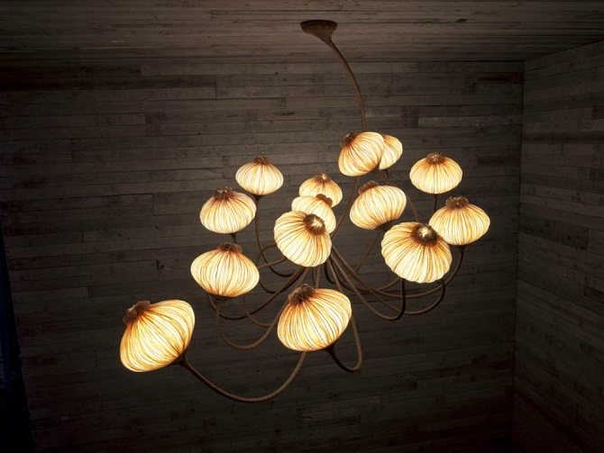 Ceiling Flower Lamps