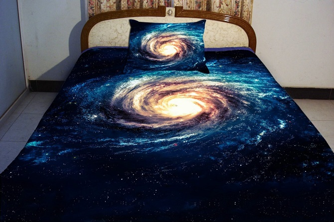 Galaxy Bedding Outer Space