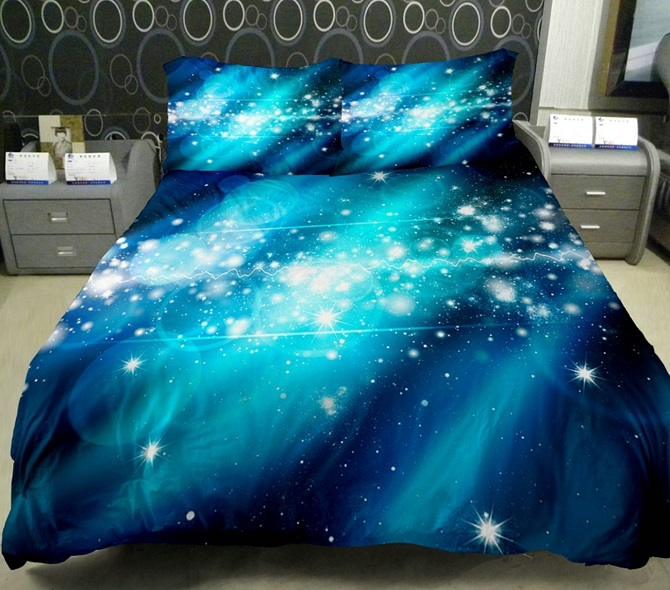 Galaxy Bedding Quilt Cover