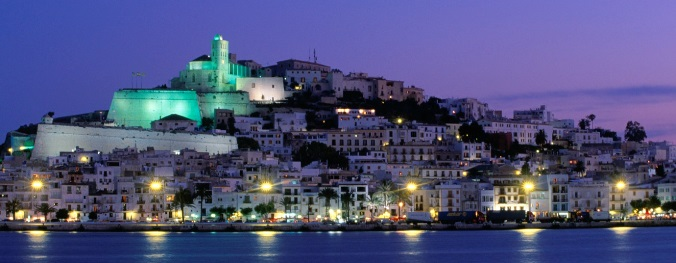 Ibiza by night