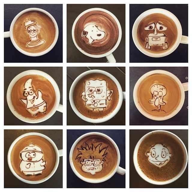 Other Characters Latte Art