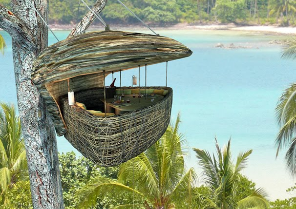 The Dining Pod at Soneva Kiri, Koh Kood
