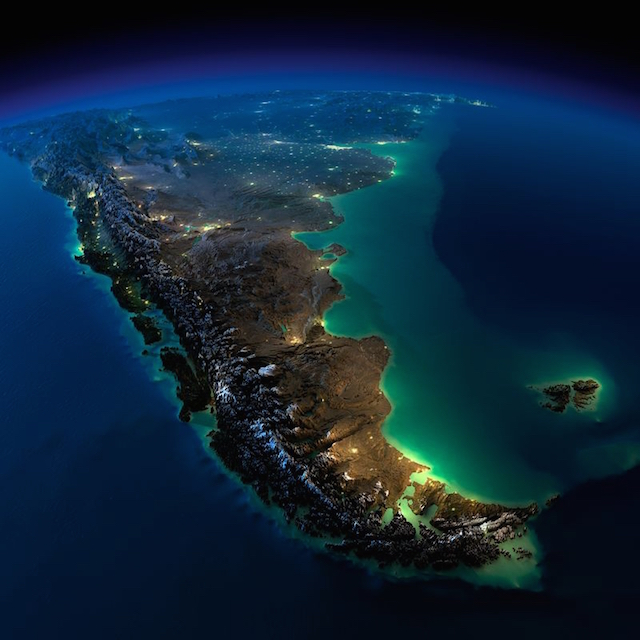 10. Southern South-America Chile and Argentina
