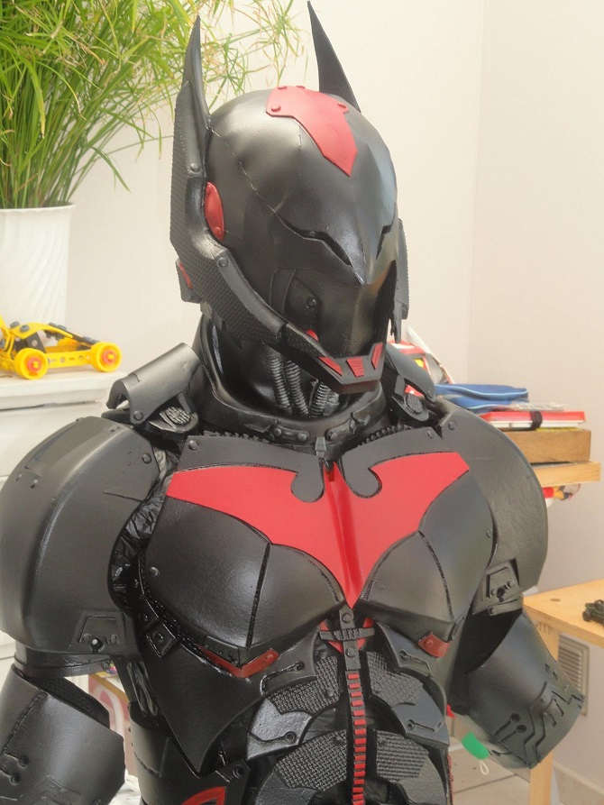 Incredible Real Life Batman Beyond Costume