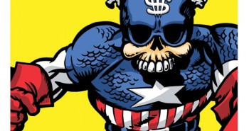 Captain America Skeleton Face