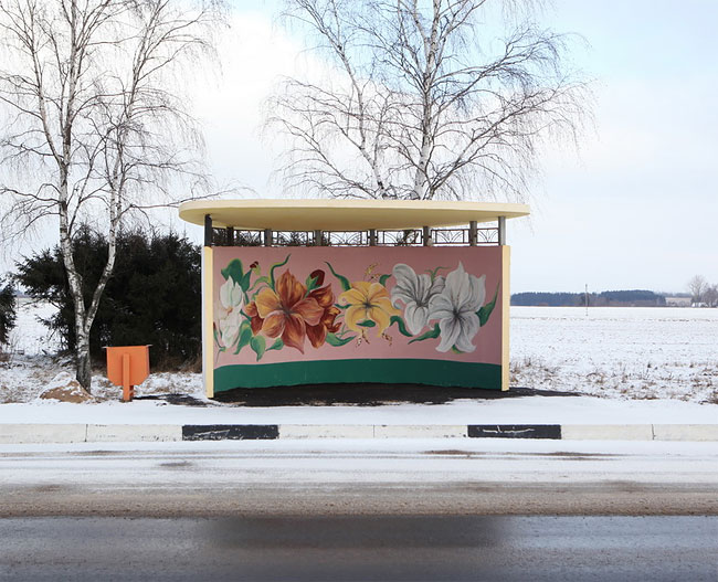 Colorful Bus Stops Across Belarus