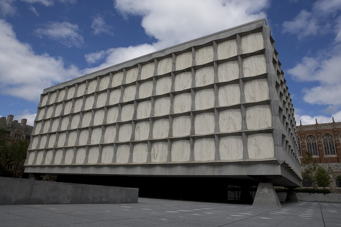 Image of Beinecke Exterior