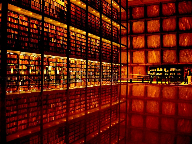 Rare Book Library at Yale