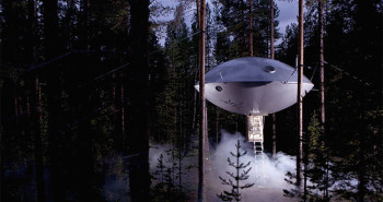 Treehotels in Sweden