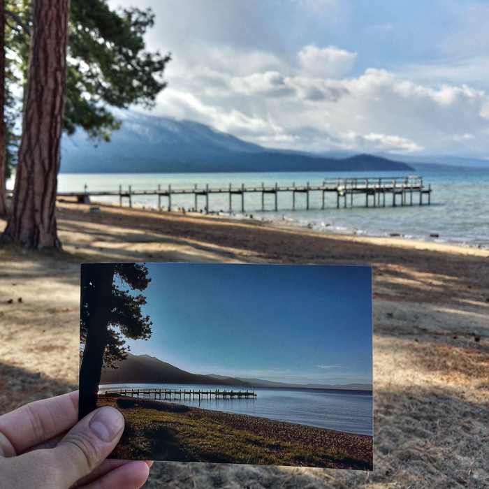 Valhalla Pier in South Lake Tahoe