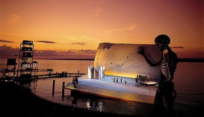 Floating stage of the Bregenz Festival