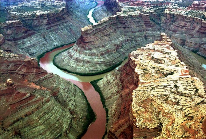Green River and the Colorado River