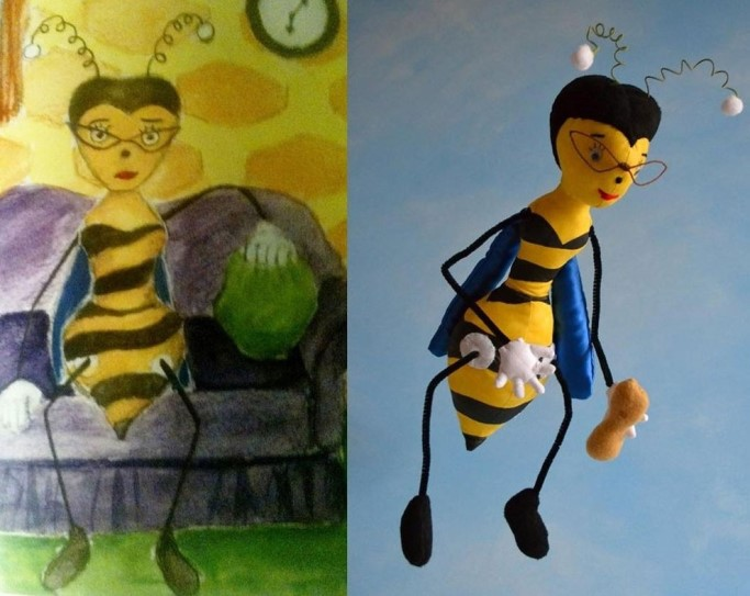 Transforming Drawings Into Stuffed Animals 10