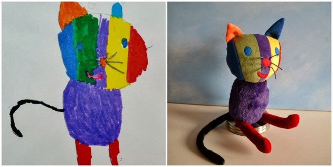 Transforming Drawings Into Stuffed Animals