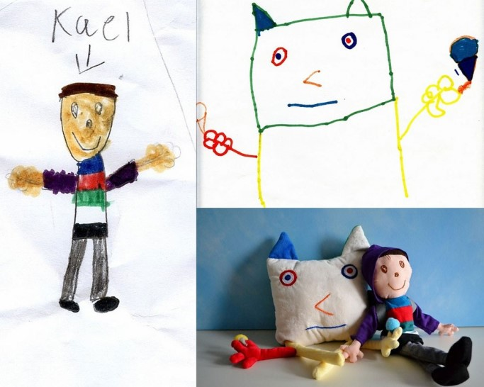 Transforming Drawings Into Stuffed Animals 8