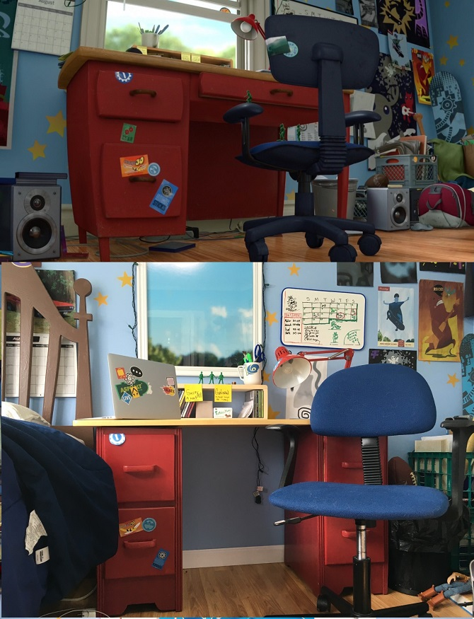 Kotatsu Table Ikea Pixar Fan Recreated Andy's Room From Toy Story